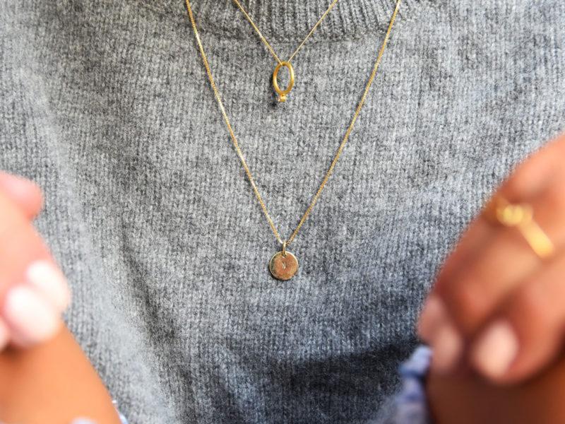 Streetstyle mit personalisierter Goldkette