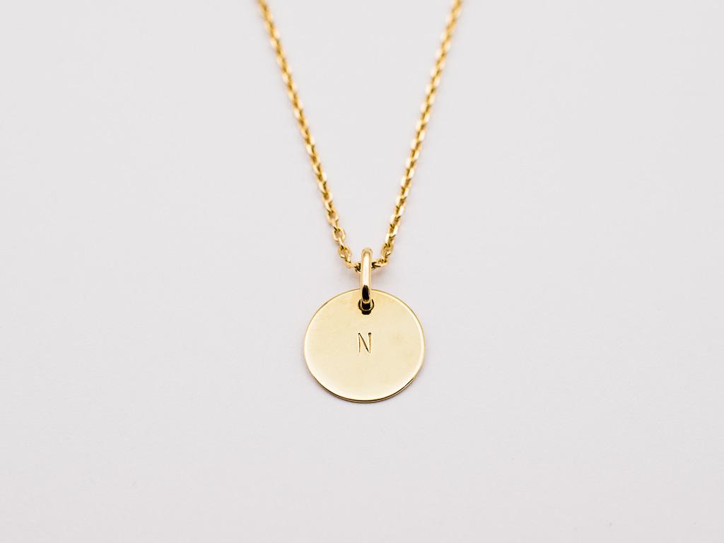 goldkette-blättchen-personalisierter-anhänger-14kt-gold-hangefertigt-goldcircus-M