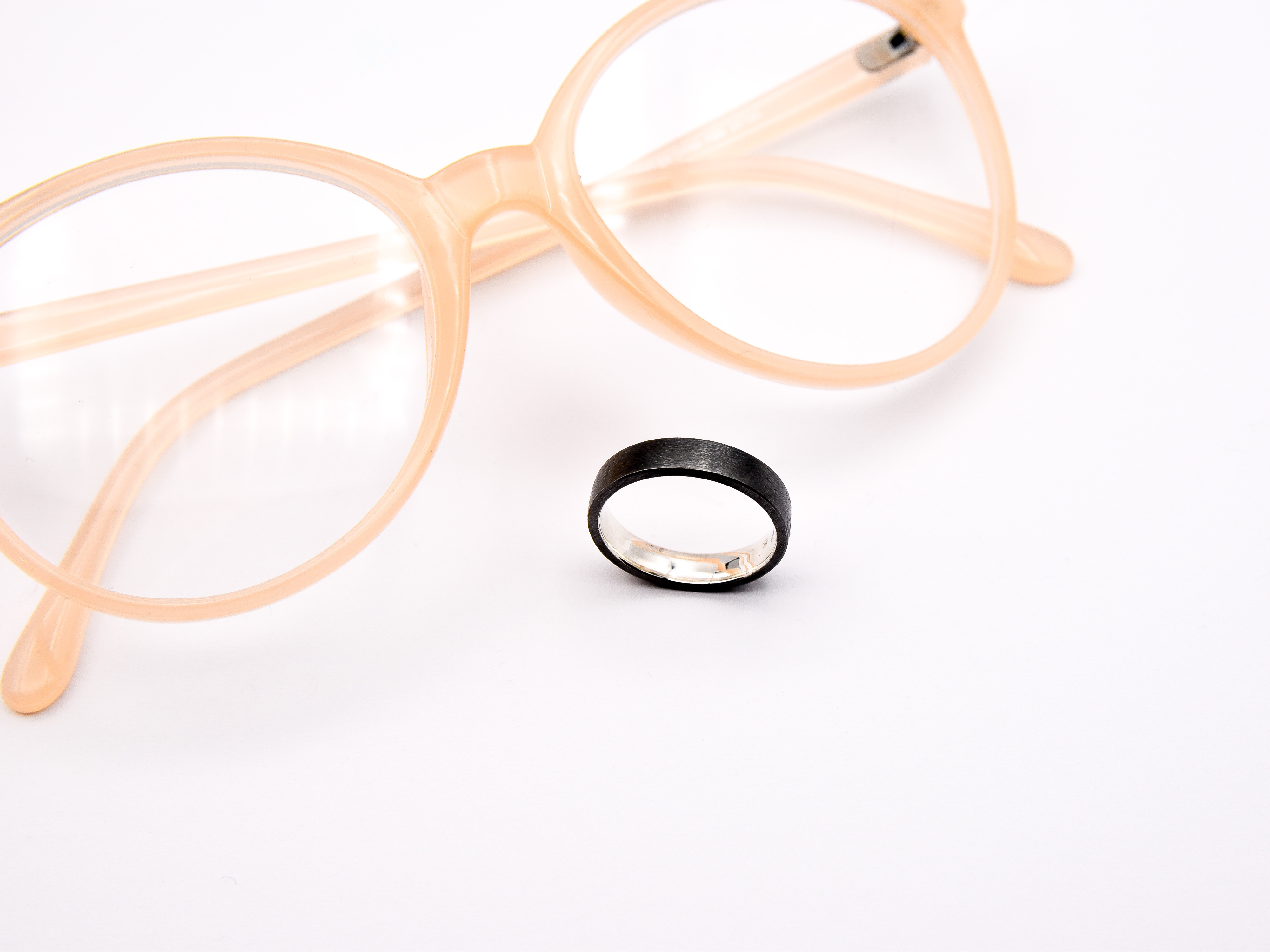 Pure-Ring-Unisex-Silberring-hangefertigter-Schmuck-Goldcircus